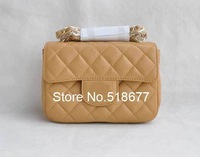 Christmas VINTAGE Mini Quilted Flap Bag Black Women's Lambskin Double Flaps bag Gold Hardware Silver Hardware 1115 Mini Bag