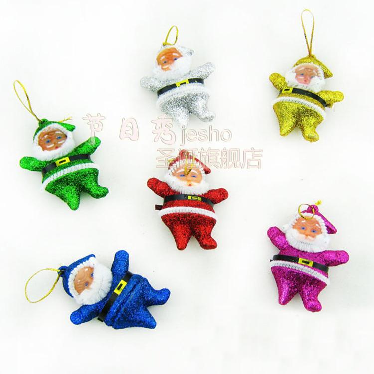 Christmas accessories christmas tree hangings color toner powder small 6 bag()