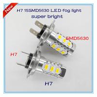 Hyundai sonata led fog light new products H7 15SMD5630 super bright auto lamp headlights accessories headlamp DRL high quality