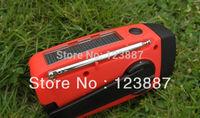 Emergency Dynamo Solar Self Powered AM/FM/WB Radio Flashlight cp Charge