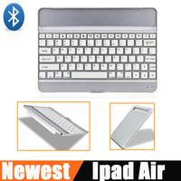 Ultra thin Aluminum Alloy Bluetooth Wireless Keyboard For IPad 5  English language sw-01117