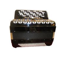 Accordion firston professional accordion 81 key 120 bass black