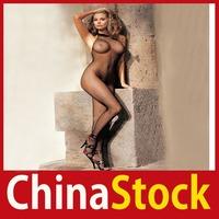 [China Stock] Amy2_Sexy Body Stocking Women Crotch Babydoll Mesh Net Fishnet Lingerie Sleepwear W2 wholesale