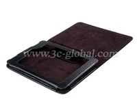 Free shipping leather case for Amazon Kindle paper white 6inch with wake up and sleep function