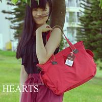 Free Shipping Fashion Canvas Shoulder Bag Woman Messenger Bags Women Handbag Casual Bags 3 Colors Wholesale