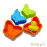 Series Small  Butterfly Silica Gel Cake Mold Jelly Chocolate Oven Baking Tools Free Shipping