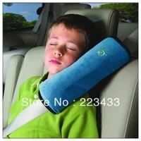 Child car safety belt cover shoulder pad set car plush cartoon safety belt