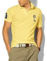 2013 famous brand t shirt men 2013+Men's Short Sleeve T Shirt slim fit ,Polo shirt ,cotton,12colors ,4size,Free shipping