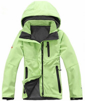 2014 Spring Autumn New Fashion Women's Sports Coat Brand Outdoor Waterproof Soft Shell Woman Charge Clothes Jacket Free Shipping