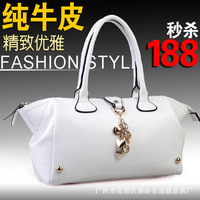 Location 6602 2013 autumn and winter fashion casual fashion handbag one shoulder cross-body women's genuine leather handbag