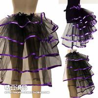 Fashion all-match train dress stage skirt costume puff short skirt