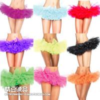 Multi-layer puff skirt layered ultra-short costume miniskirt