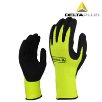 Deltaplus vv733 201733 safety gloves latex coating breathable wear-resistant