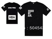 Free shipping HBA t shirt mens fashion hip hop streetwear Hood By Air short sleeve shirts