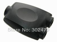 [FREE SHIPPING/EPACKET!] Toslink Digital Optical SPDIF Audio 1 to 2 Splitter Adaptor Adapter Black