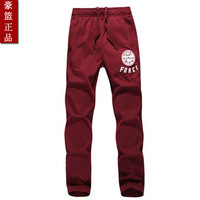 Sports pants male sports pants cotton trousers casual pants male thin 100% cotton wei pants slim small trousers