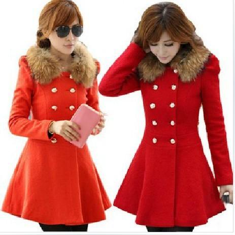 Red Coat Womens