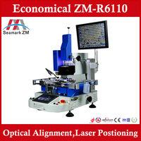 HOT seller  cheapest Vision system high-precision ZM-R6110 bga rework station to repair laptop desktop xbox sp sp2