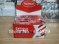 Hot Sell !!! Nail Korea Plastice Cuticle Pusher -very sharp100 pcs/lot