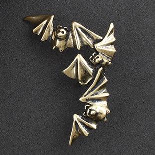 Bat Gothic series jewelry earring clip Bat Ear cuffs for women fashion punk ear clip 2pcs/lot free shipping(China (Mainland))