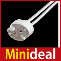 rising stars [MiniDeal] 2 X MR16 MR11 LED Halogen Lamp Light Bulb Socket Base 1 Hot hot promotion!