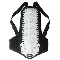 free shipping ! Skiing flanchard back support waist support armor professional roller skiing spine thermal