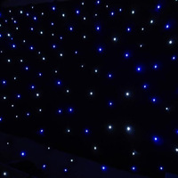 4.3m*7.4m white led star curtain