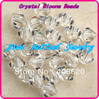 Free Shipping, Chinese Top Quality crystal (3mm 4mm 5mm 6mm 8mm) Crystal Bicone Beads Glass Beads