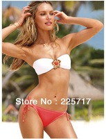 S, M, L 2013 new free shipping victoria brand sexy diamond ornament bikini swimsuit padded push-up vs bathing suits S13062