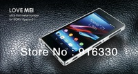 New arrival love mei metal Aluminum bumper For Sony-Ericsson For Xperia L39H Z1 bumper case with retail packaging