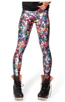 EAST KNITTING New fashion BL-261 Fashion galaxy digital print pants 2014 new Candy Leggings plus size XS-S M L XL