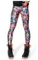 EAST KNITTING New fashion X-140 Fashion galaxy digital print pants 2014 new Candy Leggings plus size XS-S M L XL