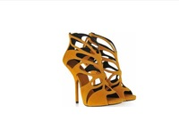 fashion new Hollow out design lady  high heel pumps shoes sandals