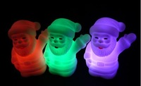 Free shipping - Santa Claus Colorful lights can change color Christmas Gift /LED color change santa claus light