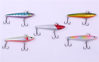 77mm VIB/Vibration Fishing Lures tackles Sinking lure swimming lure molds DA0004