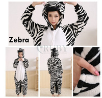 Zebra Animal Onesies Unisex Adult Onesie Kigurumi Pajamas Pyjamas Animal Cosplay Christmas Costumes Sleepwears