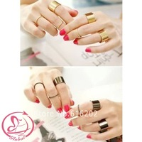 Fashion Copper Jewelry Ring Twisted Set Ring Fashion Rings For Woman Accessories  Free Shipping
