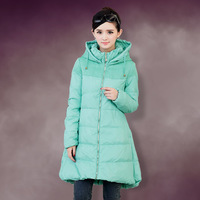 Christmas promotion Down coat female 2013 thickening loose plus size mm with a hood women's winter