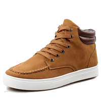 2013 high-top shoes male fashion casual shoes british style skateboarding shoes