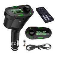 Free Shipping Wireless Car MP3 CA016 with FM Transmitter Multi-Function and Remote controller