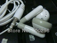 Free shipping Generation 1 PGW 3.5mm earphone headphone headset for mp3 mp4 CD IPHONE  3G 4G 5G,No tracking