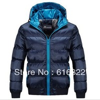 2013 New Han edition slim Hooded cotton-padded jacket coat 466