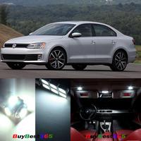 White 13 pcs Error Free Lights SMD LED Interior Kit Package For Volkswagen VW Jetta 6 MK6 VI 2011-2013