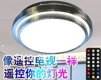 Special new remote intelligent full-color LED lights Ceiling Round Lamp bedroom lamp modern minimalist shipping