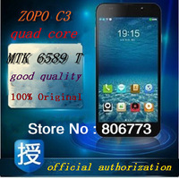 100% Factory Unlock  Original ZOPO C3 MTK6589T Quad Core 5inch FHD1920*1080 Android 4.2 Dual SIM 3G WIFI GPS android smart phone