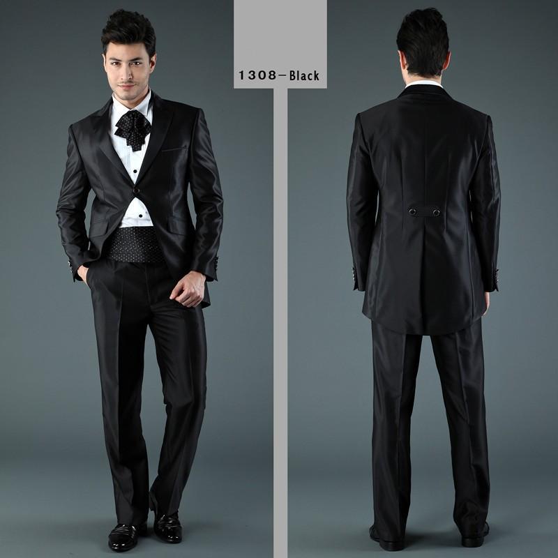 Black Suits For Men Wedding Black Men Dress Suits