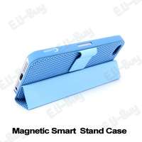 1pcs Retail. Magnetic Smart phone Case Cover Stand Holder for iPhone 5/5s. Free shipping! (P017-1)