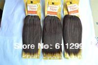 "Free Shipping premium now hair premium now straight hair sensational premium weave STW 8"" 4#  5PCS on sale"