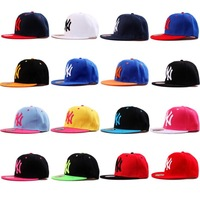 Whosale NEW Fashion Womens Men Hip-hop Baseball caps Hats Ustreet Party Sun Shade Many colors avilable Snapback