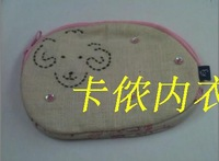 Bohemia vintage handmade hand embroidered fabric sheep coin purse key wallet grocery bags  new 2013